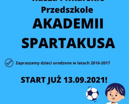 Piłkarskie Przedszkole Akademii Spartakusa